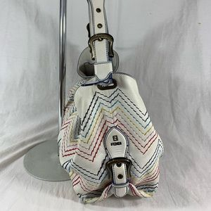 Fendi Bags - FENDI Doctor Bag Leather Multicolor Stitching